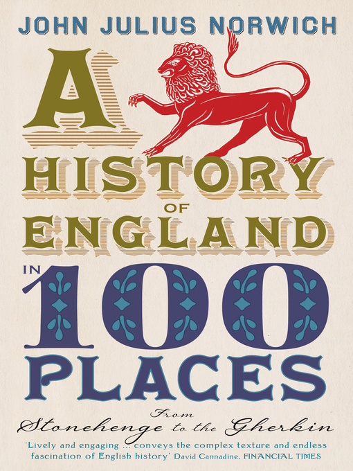 A History of England in 100 Places (eBook)